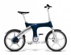 Hybrid Mando Footloose IM bicycle darkly blue 20