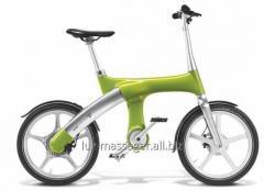 Hybrid Mando Footloose IM bicycle green 20