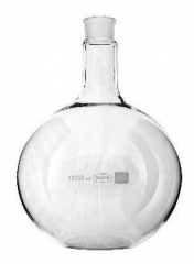 BIOWIN a flat-bottomed flask for distillation from