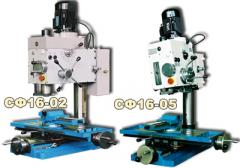 Machines desktop boring-and-milling SF16-05 models