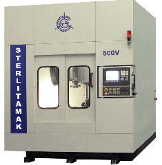 The machine milling and boring with model 500V ChPU