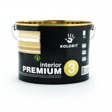 Краска Колорит латексная Interior Premium 3 10л