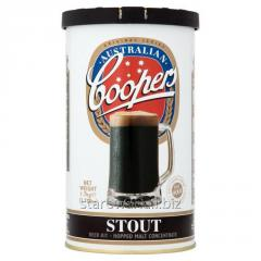 Concentrate for production of STOUT beer of 1,7 kg