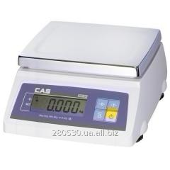 Scales for weighing of CAS SW