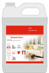 Means for cleaning of carpets, carpets, textiles,