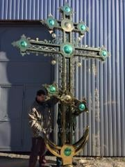 Exclusive cross for the temple