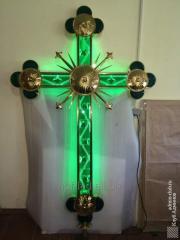 Exclusive krzyż z podświetleniem LED