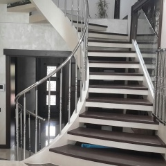 Handrail steel for ladders, balconies from