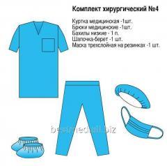 Комплект хирургический № 4