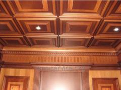 Ceiling decorative panels, for false ceilings