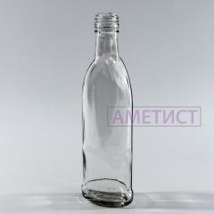 Стеклянная водочная бутылка 0.25 л Австрия с...