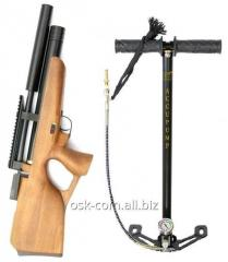 Air rifle of PCP Kozak Compact ZBROIA with the