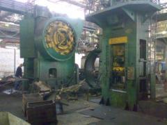 Press goryacheshtampovochny K04038042 Equipment