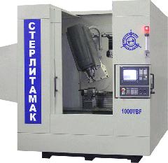 The machine multi-purpose milling and boring with model 1000VBF ChPU