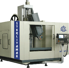 The machine milling and boring with model 800VF6 ChPU
