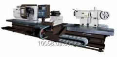 The turning horizontal machine with ChPU with a
