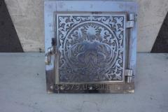 Дверца топочная (ПР) (алюминиевое литье)+...