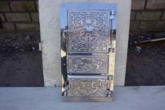 Дверь Спарка (ПР) (мет.+ал.литье+нерж) 420х205