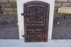 Дверца спарка арка метал+ковка (батон) ш 20/в40