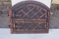 Oven door an arch threw + forging (top + a bottom)