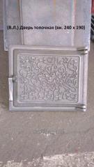 Дверца топочная (Т) 240х190 (4,5кг)