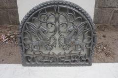 Портал каминный Дракон
