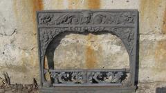 Портал каминный фасад