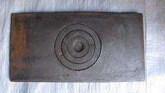 Плита чугунная (Б) 1-камф. 320х620