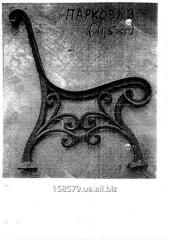 Ножка скамейки парковой