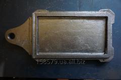 Шубер. Задвижка (З-2) алюминиевая. малая