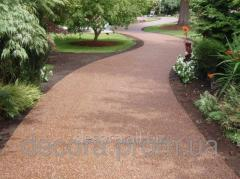 Garden paths from a marble crumb - purfiks,