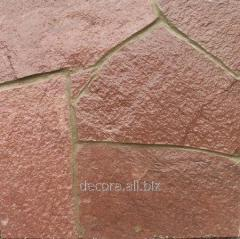 Varnish for a stone of glossycon, concrete, a