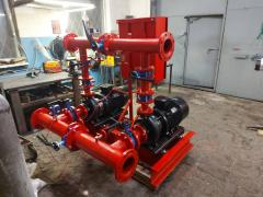 Pumping station Wilo pressure boosting