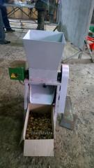 The equipment on processing of a waln