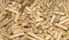 The pellets granulated biofuel