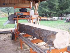 Band sawmill NORWOOD LM29 13hp Honda GX OHV