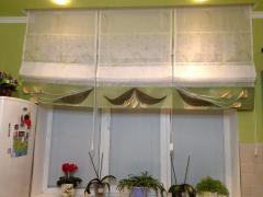 Curtains, design of curtains, curtains on windows