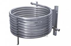 The heat exchanger is coaxial