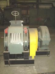 The press roller for the production of briquettes