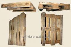 Поддон (европоддон, европаллет) деревянный 3-й