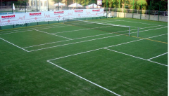 Covering from an artificial grass for hockey,