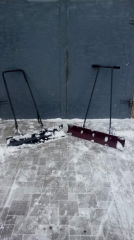 To buy shovel for cleaning of snow in the cities,