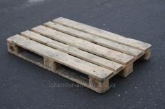 Поддон (европоддон, европаллет) деревянный 2-й