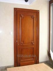 Door interroom wooden