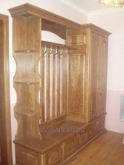 Wooden furniture for a hall