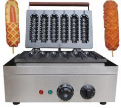 Equipment for fast food of .Magic Waffle! Figured