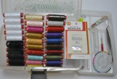 Швейные аксессуары, наборы ниток и аксессуары для