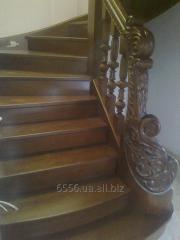Эксклюзивная лестница из дерева