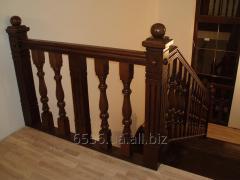 Деревянная лестница для дома Exclusive
