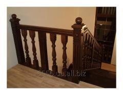 Классическая лестница для дома
